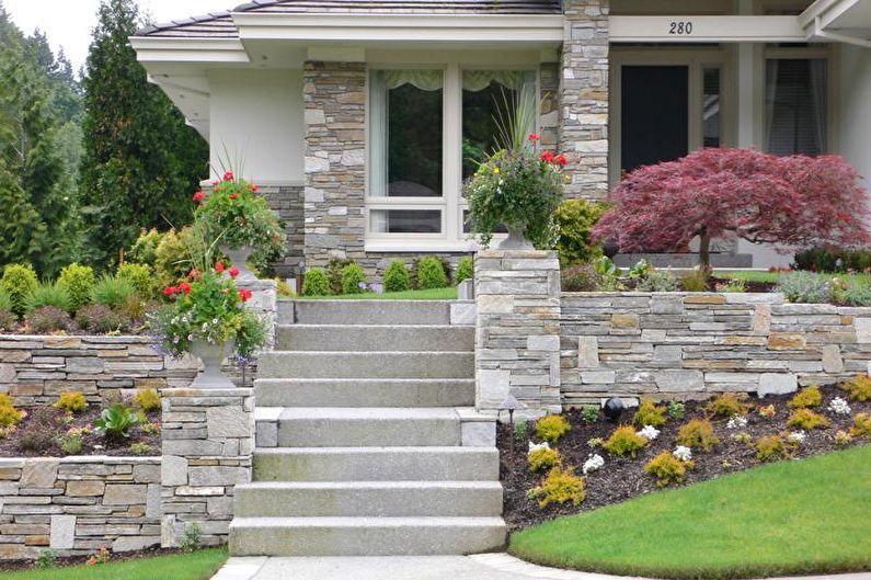 How to simple design a facade home