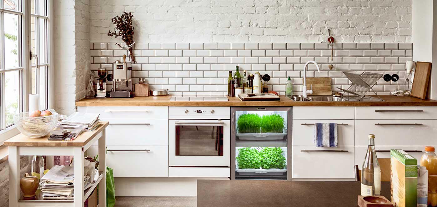 New Trend Modern Kitchen Nano Garden