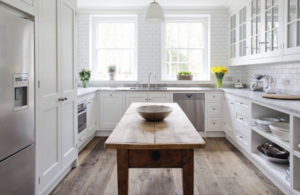 how to design a new kitchen layot
