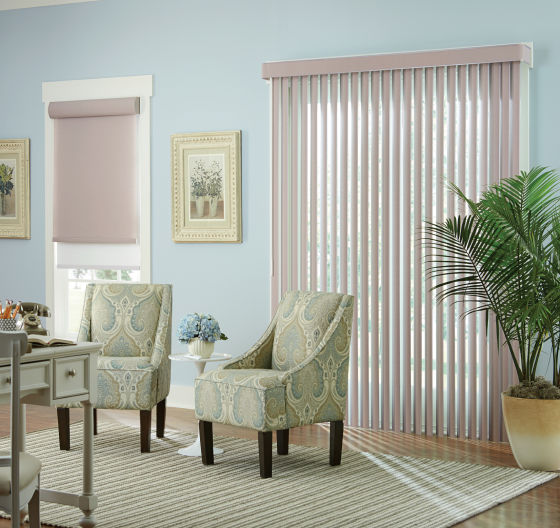 Window treatments for sunroom