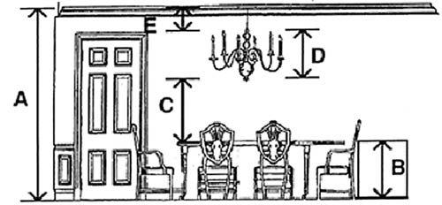 dining room chandeliers modern