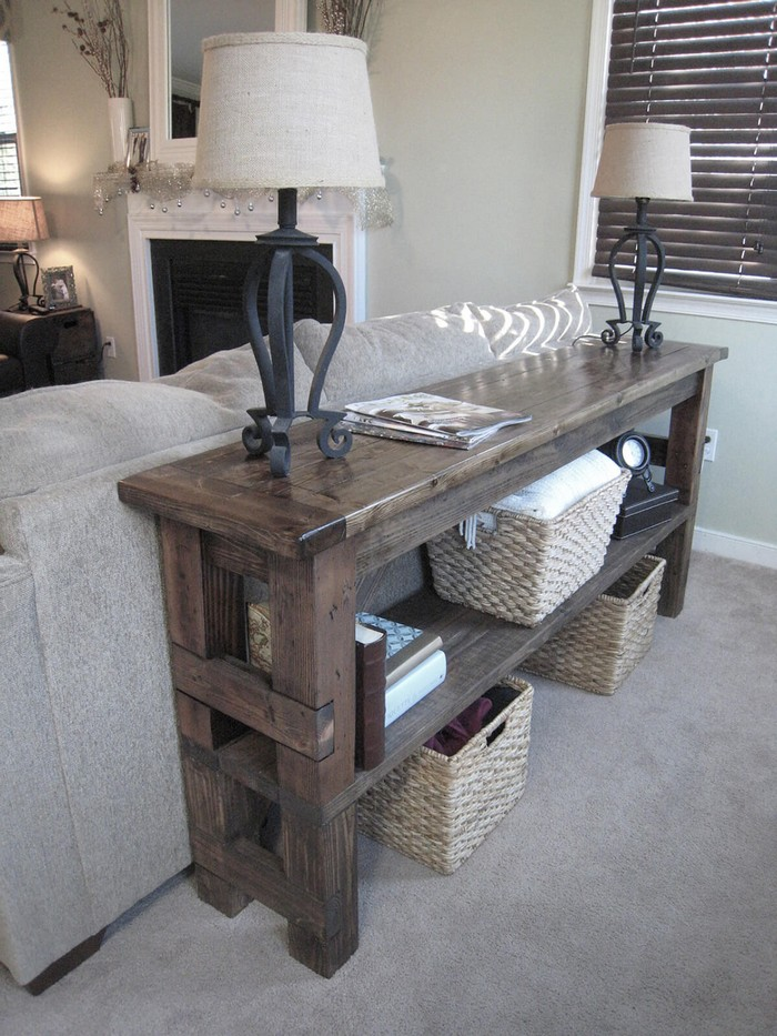 Top 40 Sofa Tables Decorations Ideas   How to Choose the Perfect Sofa Tables