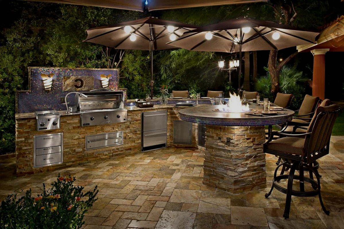 30 best Backyard BBQ Area Design Ideas