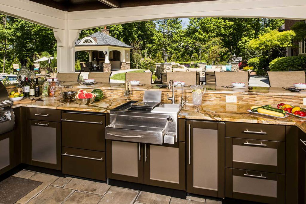 What Are The Best Countertops For An Outdoor Kitchen?