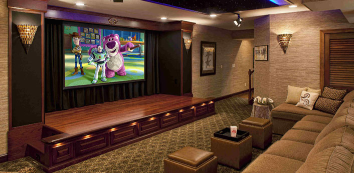 Home Theater Lighting Ideas | Home Cinema Lighting Tips