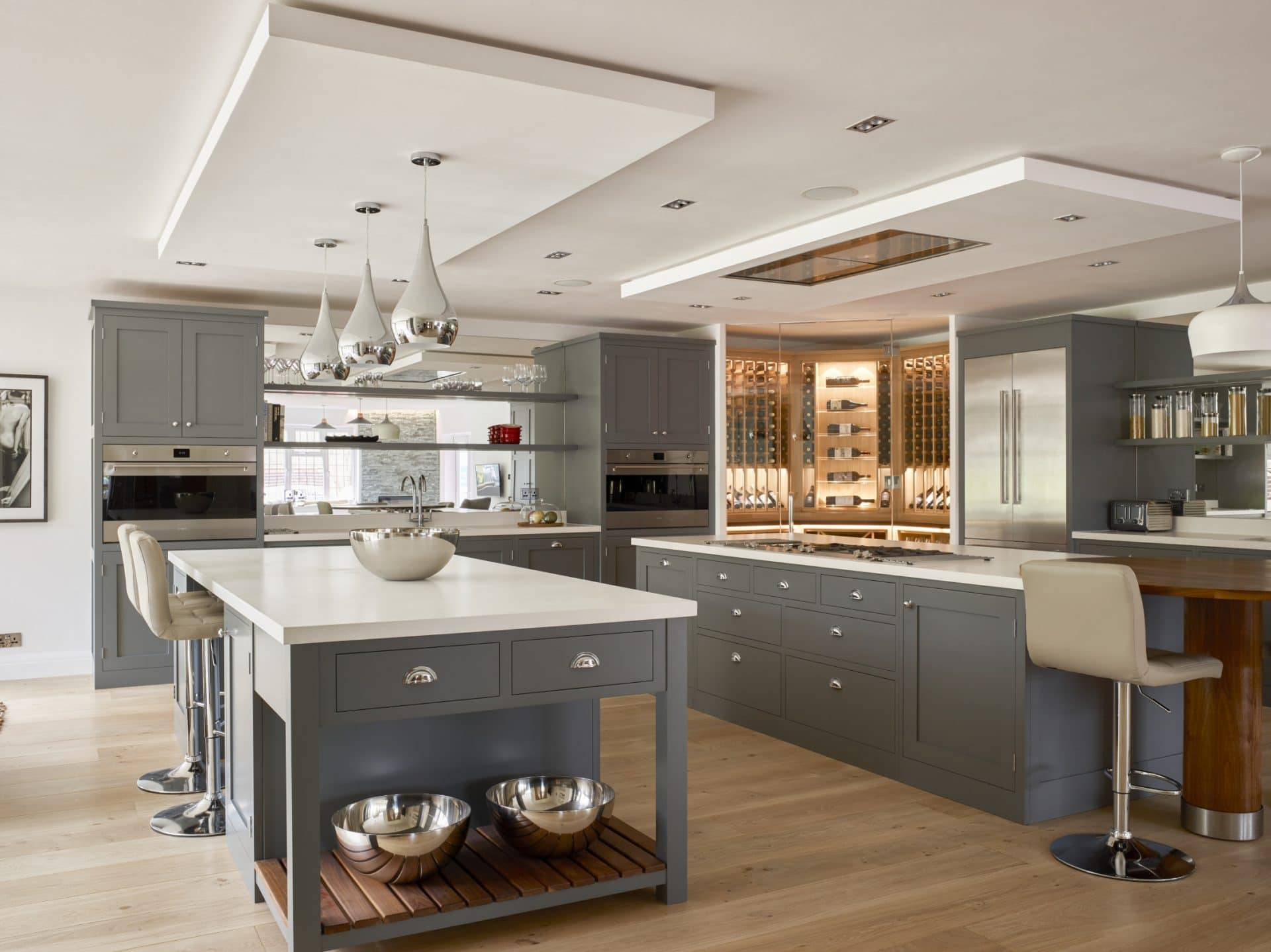20 Stunning Kitchen Ceiling Ideas for your next makeover