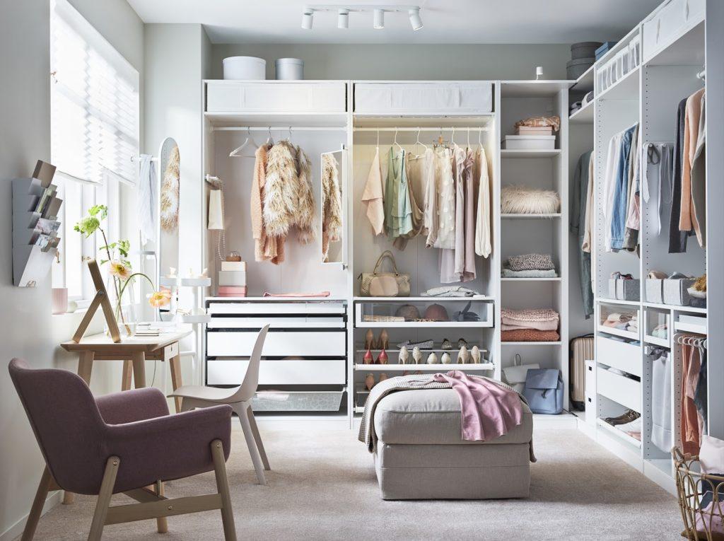 Bedroom closets
