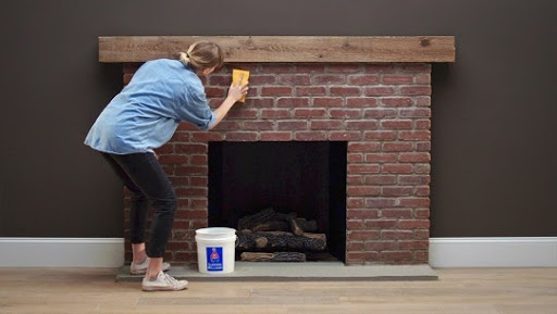 How to clean soot off brick