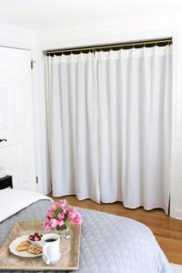 Curtain Closet Doors