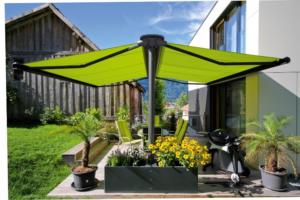 enclosed patio outdoor