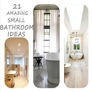 21 Amazing Small Bathroom Ideas