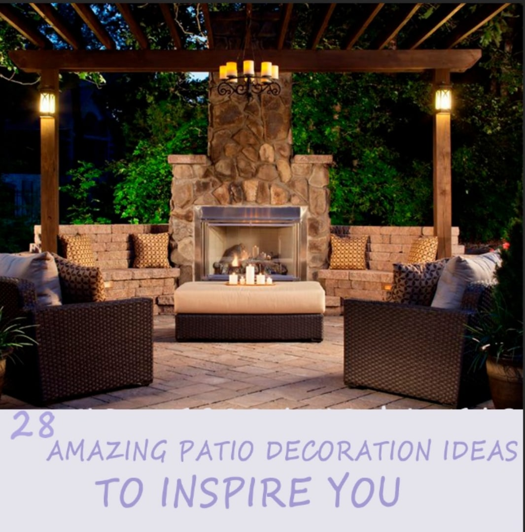 28 Amazing Outdoor Patio Decoration Ideas to Inspire You