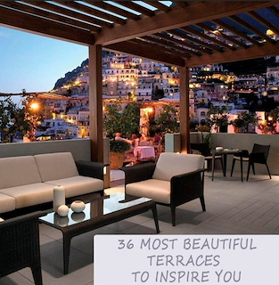 36 Most Beautiful Terraces To Inspire you- Outdoor Room Decor Ideas