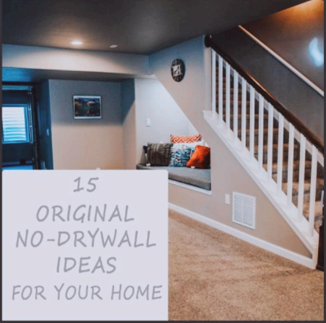 15 Original No-Drywall Ideas Home