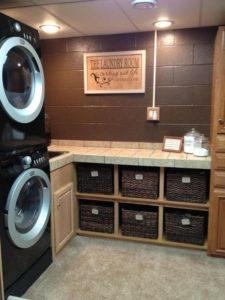 basement laundry rooms