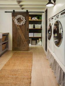 bathroom laundry room combo layout