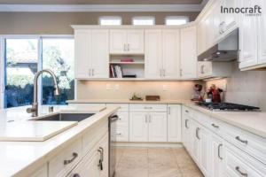 Vintage White Kitchen Cupboards