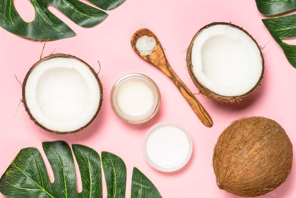 how to get coconut oil out of clothes
